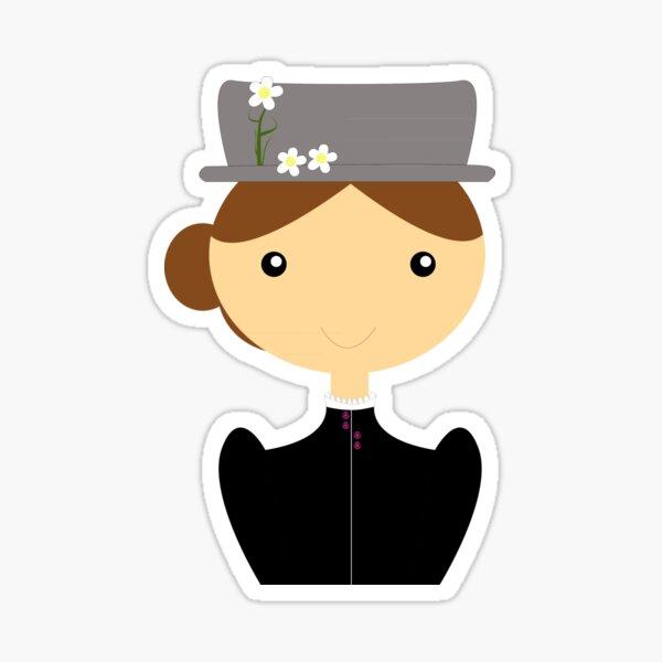 Mary Poppins Pegatina