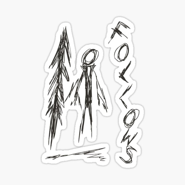 Slender - 4/8 Sticker