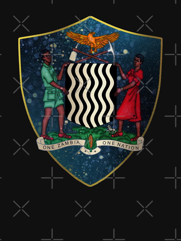 Zambia Coat of Arms by ockshirts