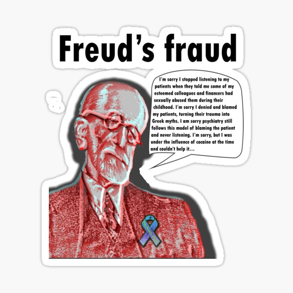 Freud's fraud Sticker