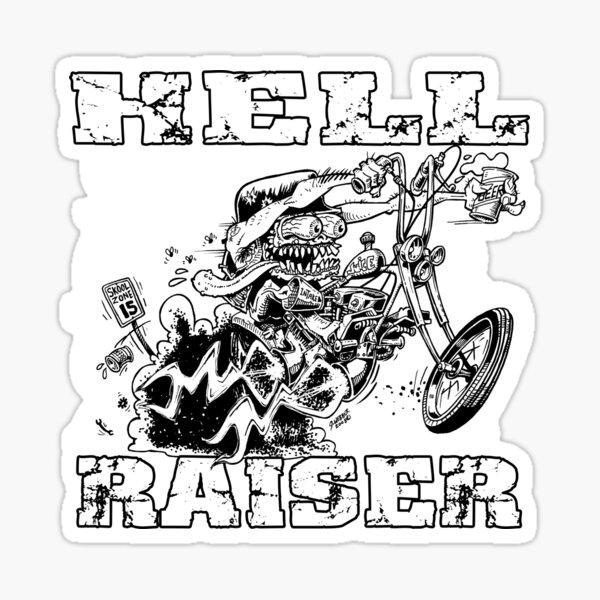 HELL RAISER Sticker