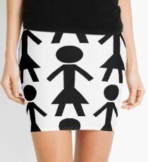 NT Woman - White Mini Skirt