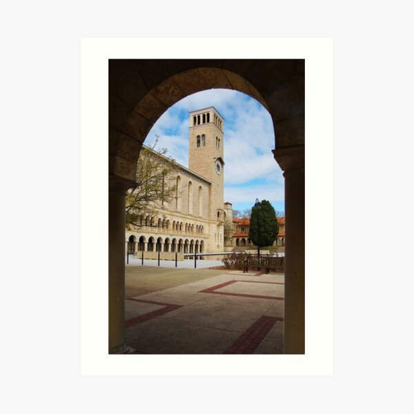 Winthrop Hall Through An Arch Art Print