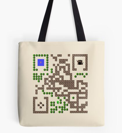 QR Link Tote Bag