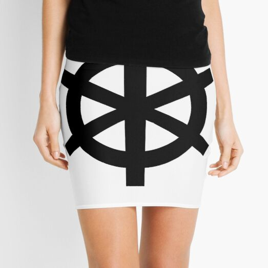 "Unicode Character ""⎈"" (U+2388) ⎈ Helm Symbol Mini Skirt"