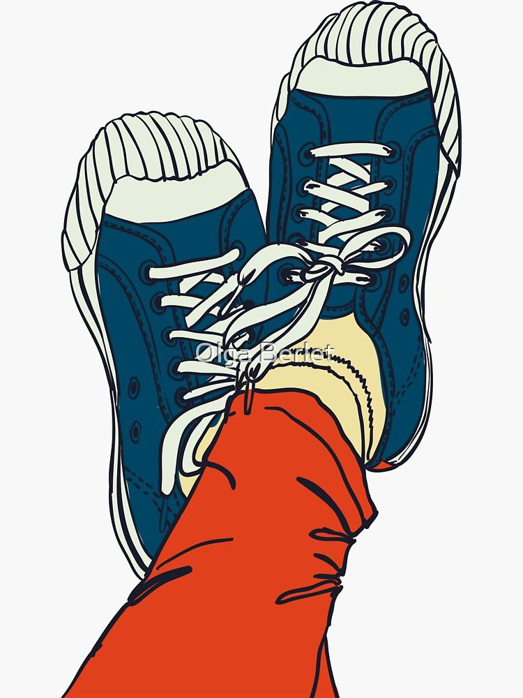 colored pattern gym shoes von OlgaBerlet