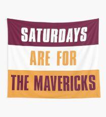 Tela decorativa Los sábados son para The Mavericks, Colorado Mesa University.