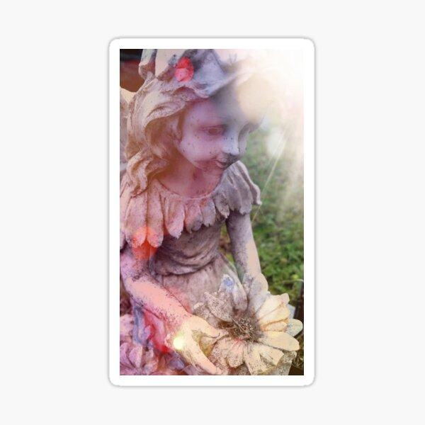 Angelic Beauty in Boothbay Sticker
