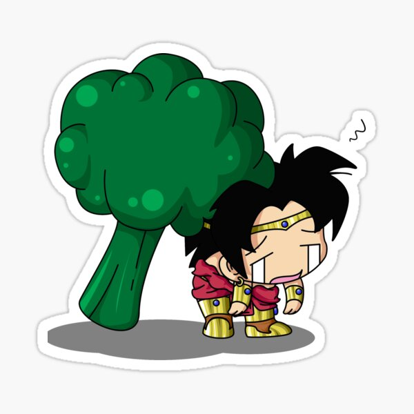 Brolly Broccoli Sticker