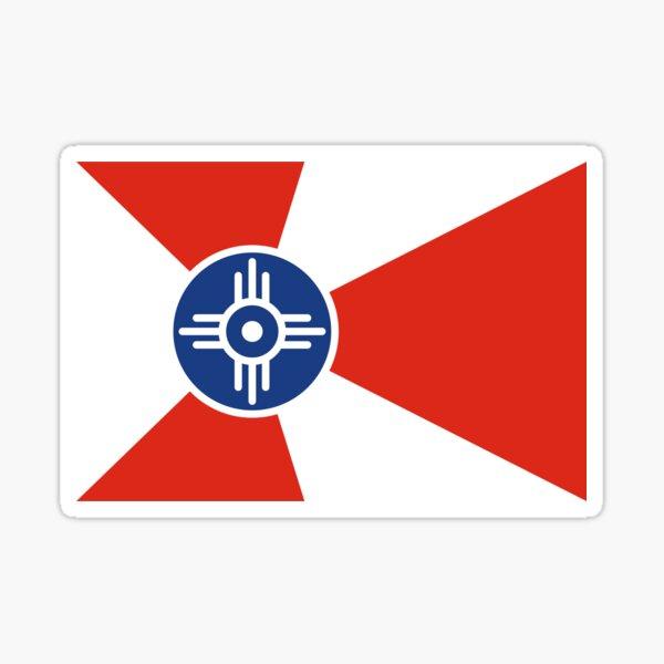 Flag of Wichita Sticker