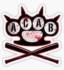 A.C.A.B Hooligans Sticker