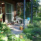 Garden Studio Entrance by Virginia McGowan