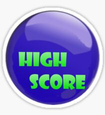 High Score! Sticker