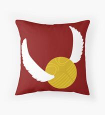 Golden Snitch Throw Pillow