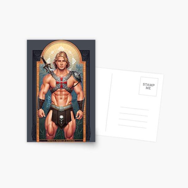 Prince Adam of Eternia Postcard