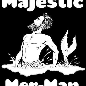 Majestic Mer Man by KaylinArt