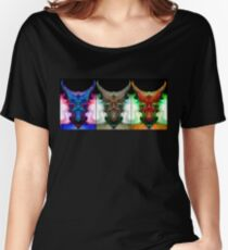 THREE'S A CROWD OF ONE Women's Relaxed Fit T-Shirt