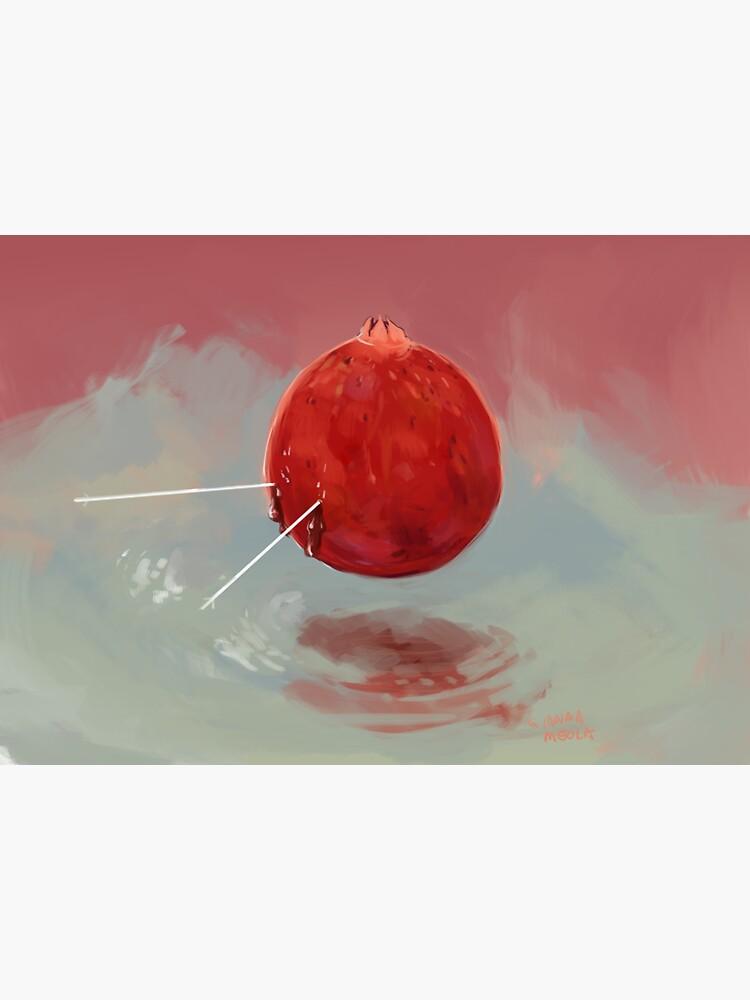 Pomegranate Saint by giannameola