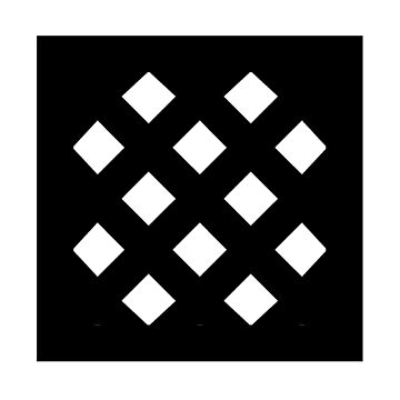 "Unicode Character ""▩"" (U+25A9) ▩ Name: Square with Diagonal Crosshatch Fill by znamenski"