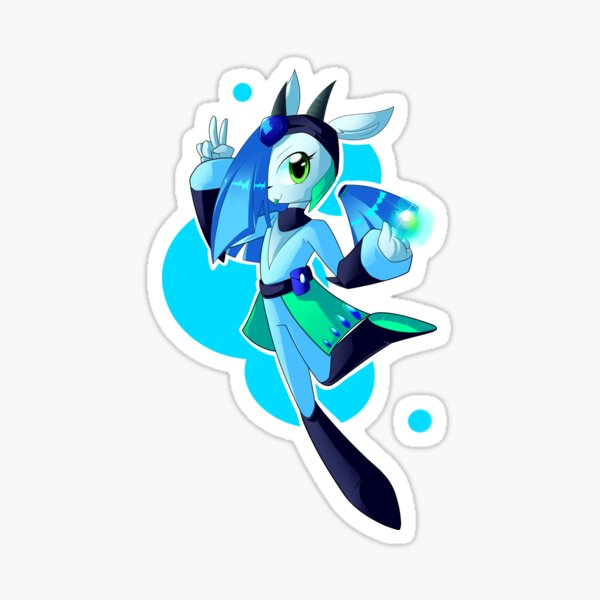 Cascade the Cyber Deer [Havoc Fox] Sticker