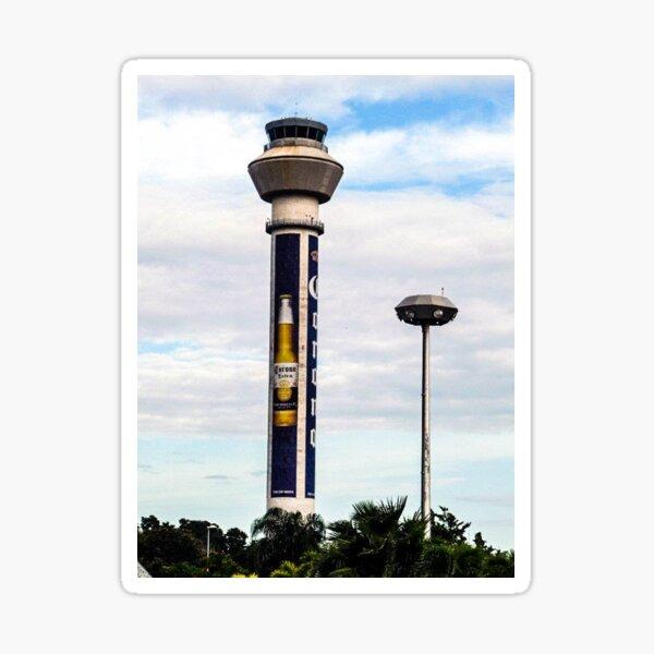 Flying Friendly Skies Sticker