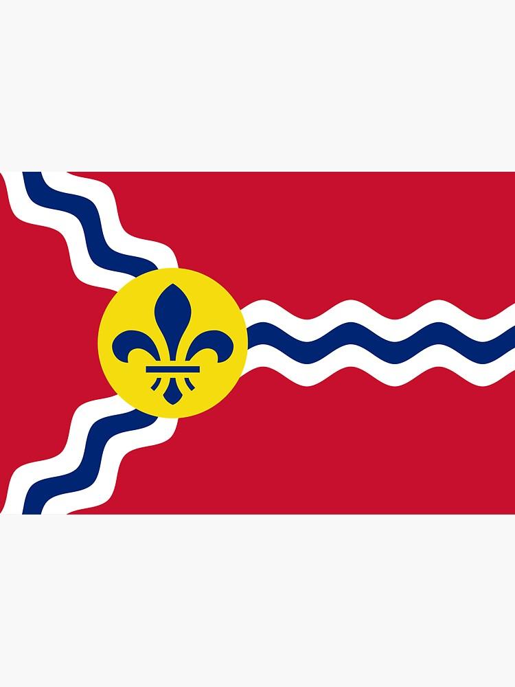 Flag of St. Louis  by abbeyz71