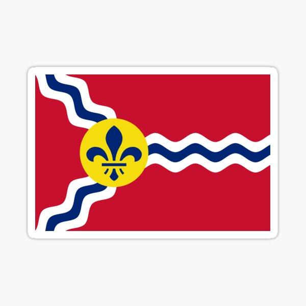 Flag of St. Louis  Sticker