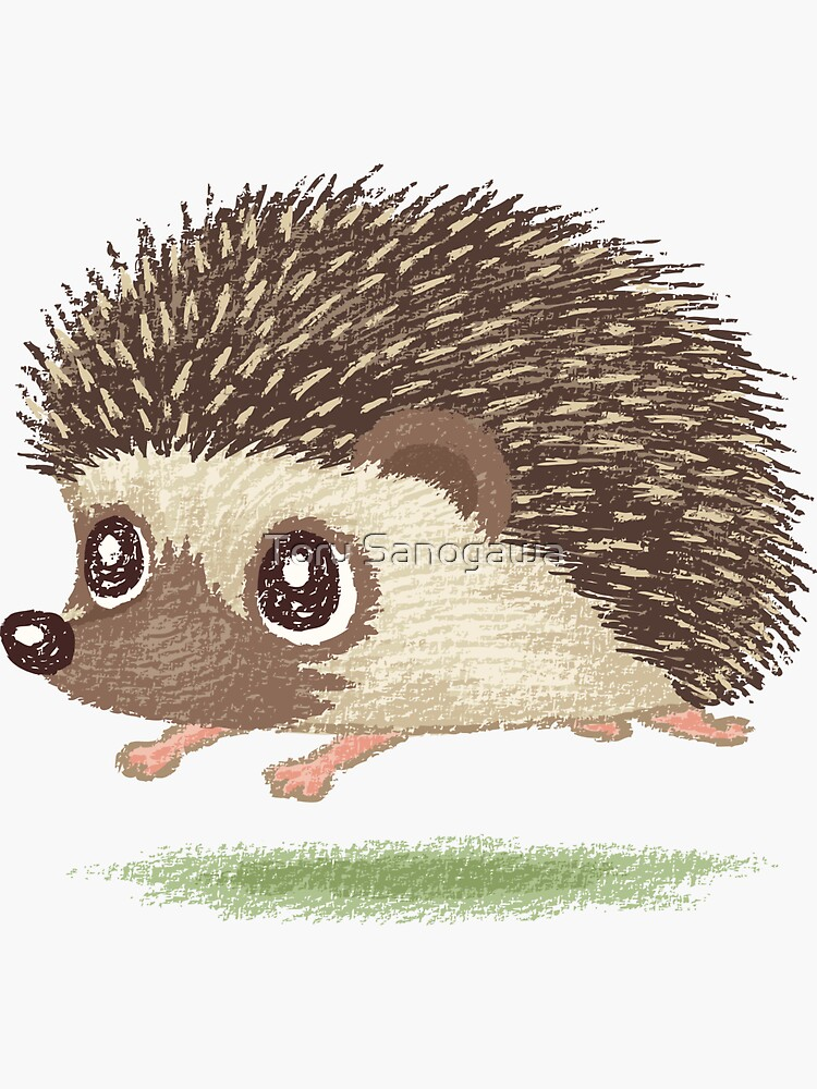 Hedgehog running by sanogawa