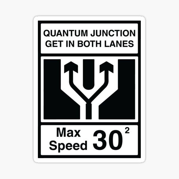Quantum Junction Sticker
