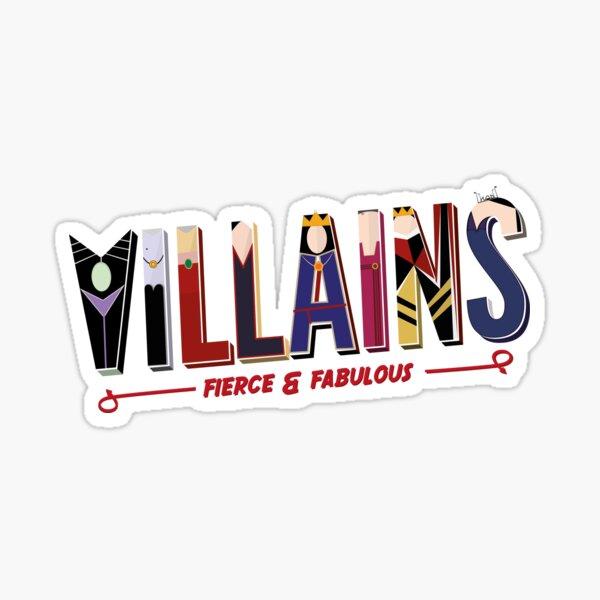 Villains Sticker