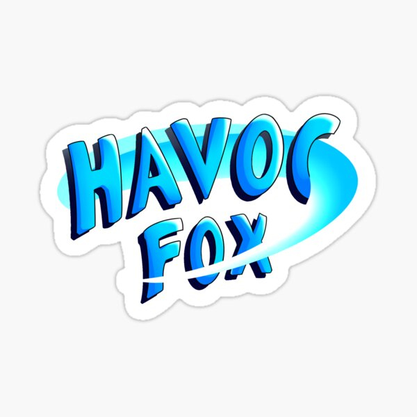 Havoc Fox - Logo Sticker