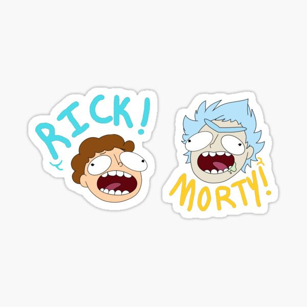 Rick and Morty (Ver. A) Sticker