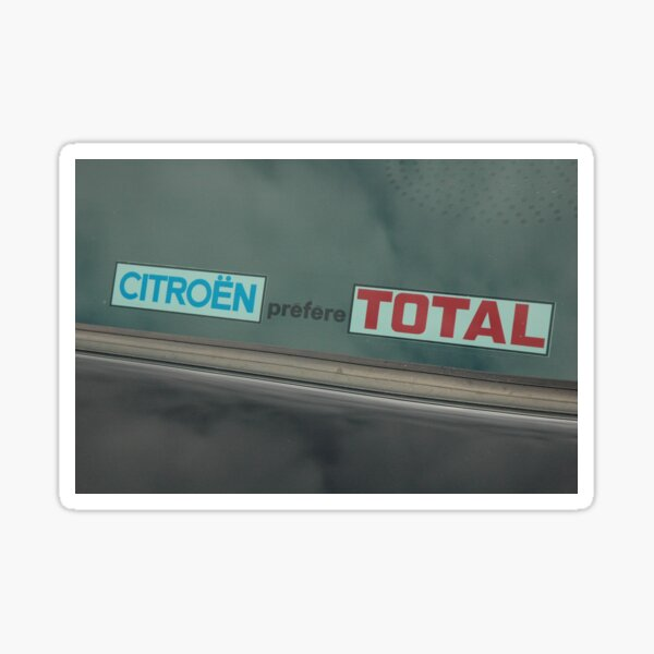 Autocollant de marketing Citroen Sticker