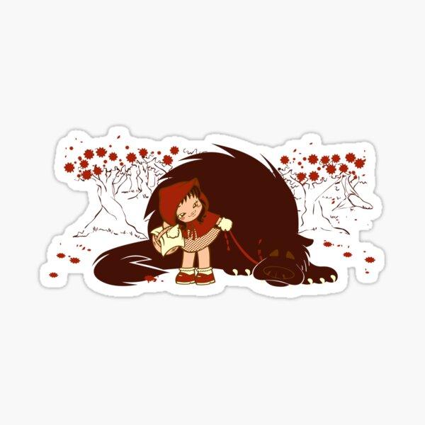 Bossy Red Riding Hood Sticker