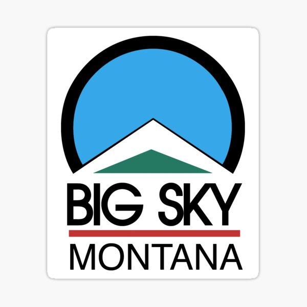 Big Sky Resort Montana Sticker
