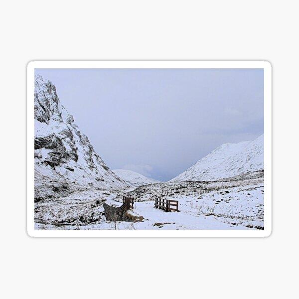 mountain air Sticker