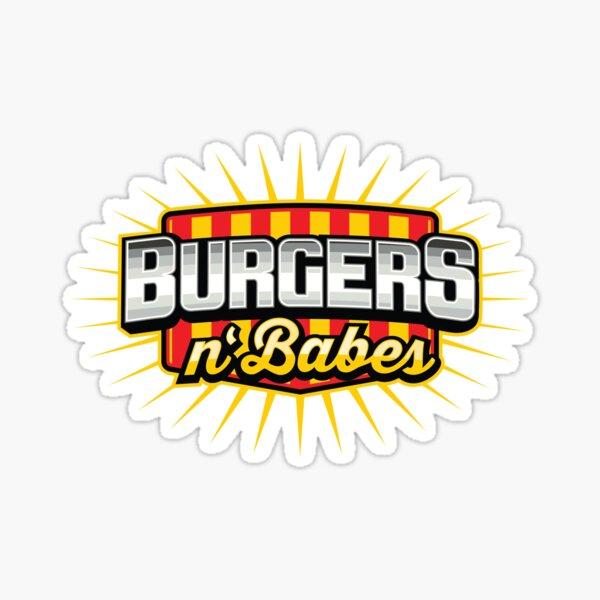 Burgers & Babes Sticker