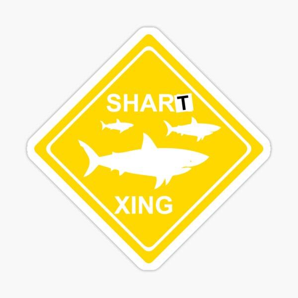 Shart Xing Workaholics Sticker