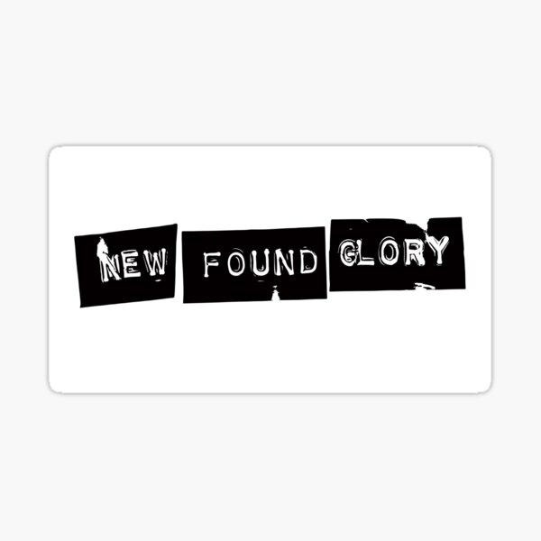 New Found Glory Logo Sticker