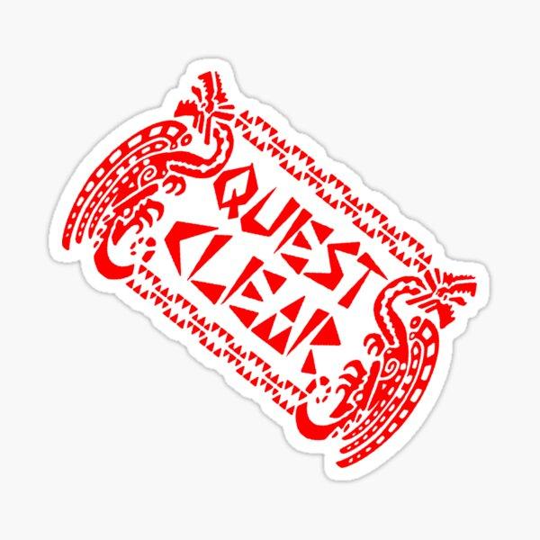 Monster Hunter Tri- Quest Clear Sticker
