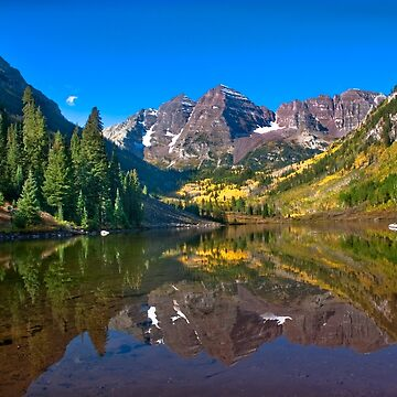 Maroon Bells. Autumn by valentina9