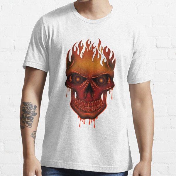 Flame Skull Essential T-Shirt