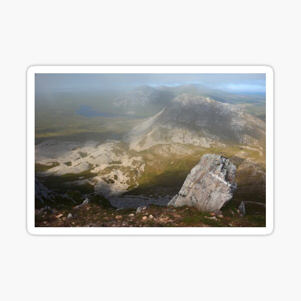 In The Clouds On Errigal Sticker
