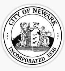 Pegatina Sello de Newark