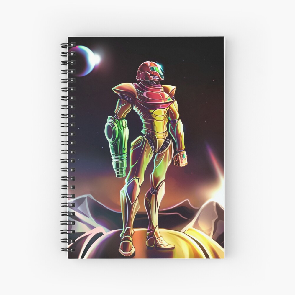 Samus Power Suit Cuaderno de espiral