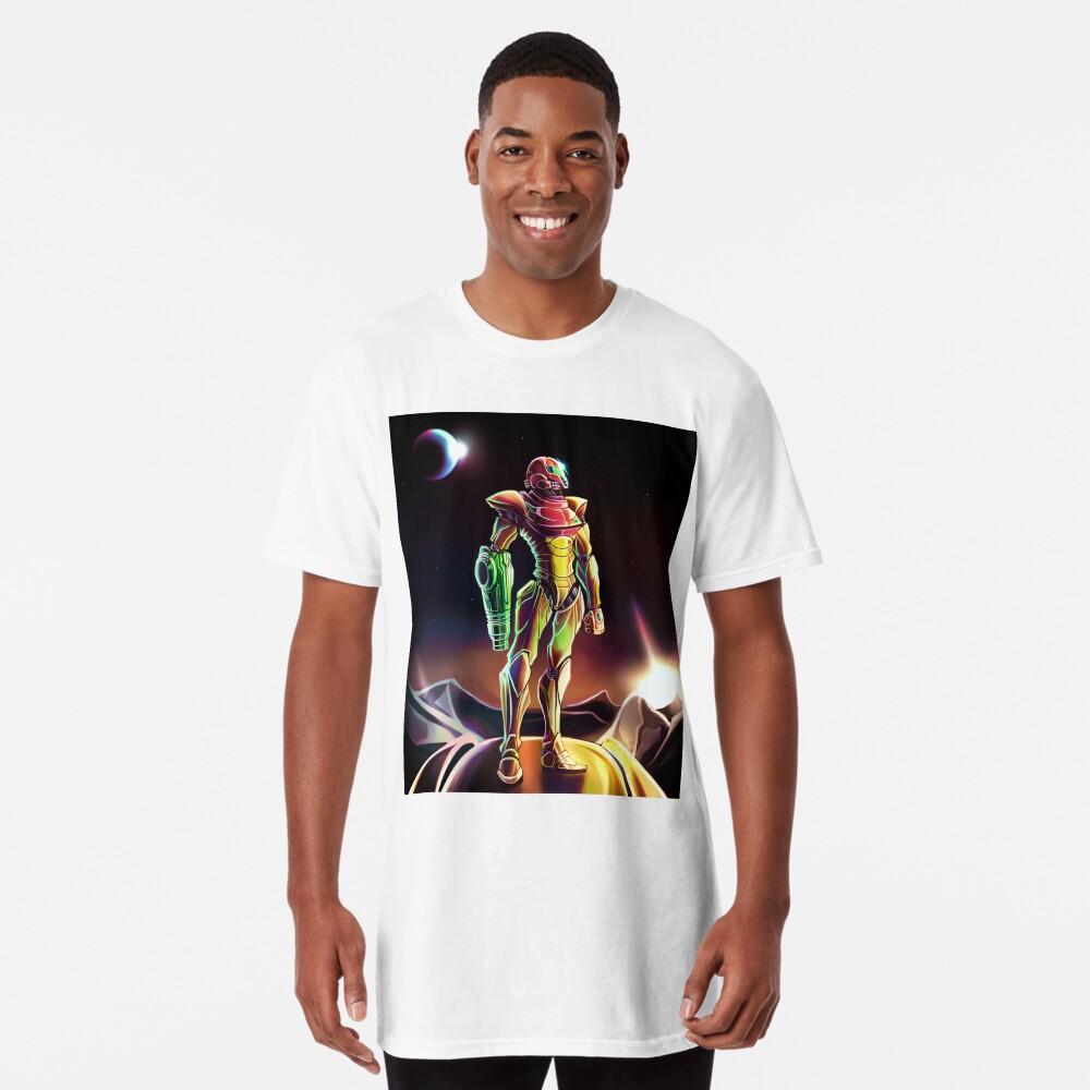 Samus Power Suit Camiseta larga
