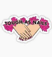 Pegatina Tough as Nails [Tono de mano 3]