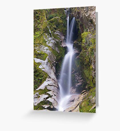 Dorothy Falls, Westland Greeting Card