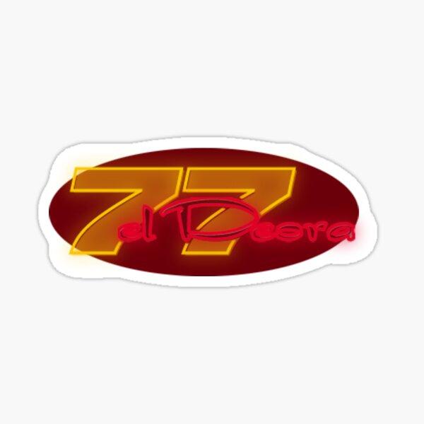 77 El Deora -Neon Logo Sticker