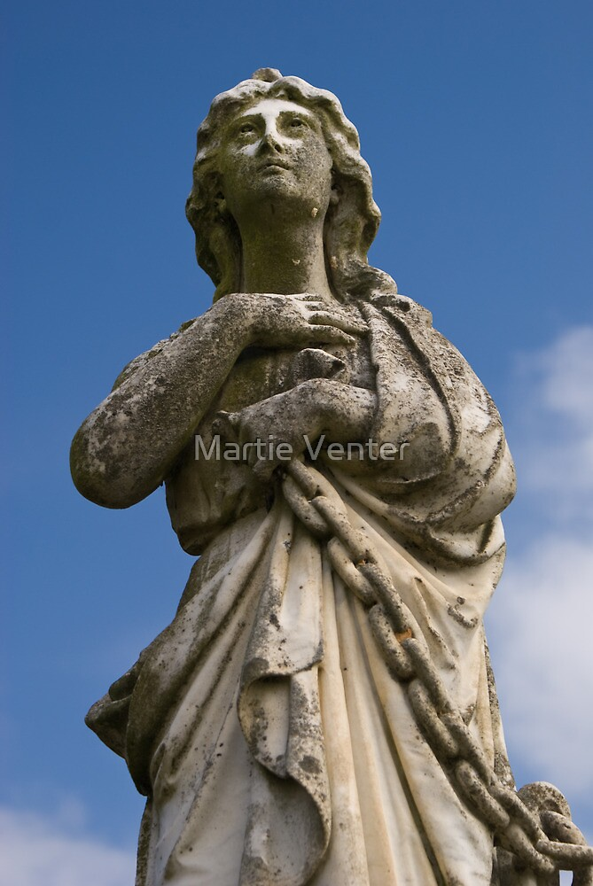 Marble Angel by Martie Venter